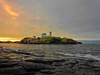 Photograph - Nubble Lighthouse by Teri Ridlon