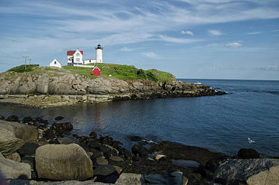 Photograph - Nubble Point by Janice Adomeit