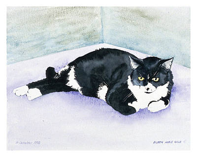 Nubby Art Print by Eileen Hale