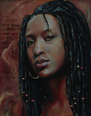 Painting - Nubian Dream 2.1 by Gary Williams