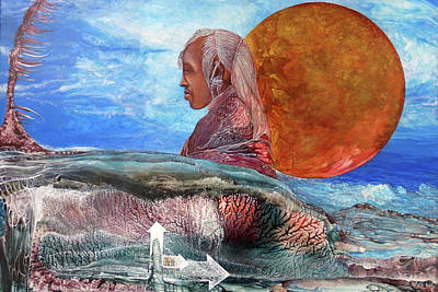 Painting - Nubian Dream  by Otto Rapp