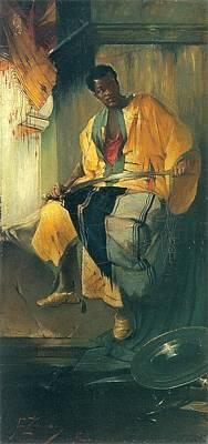Painting - Nubian by Francizek Murko