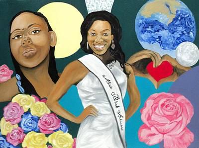 Painting - Nubian Princess by Angelo Thomas