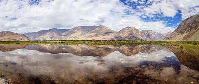 Photograph - Nubra Valley Landscape by Alexey Stiop