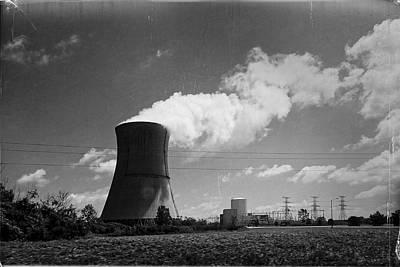 Photograph - Nuclear Plant by Lars Lentz