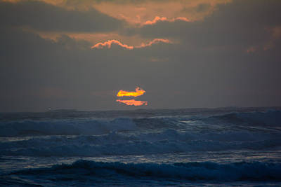 Photograph - Nuclear Sunset by Tikvah's Hope