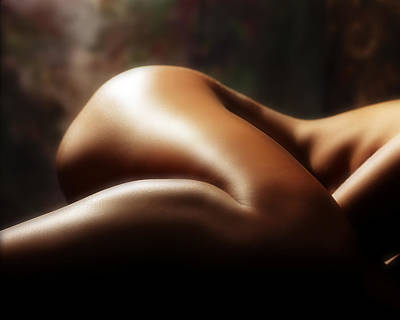 Nudes Royalty-Free and Rights-Managed Images - Nude 1 by Anthony Jones