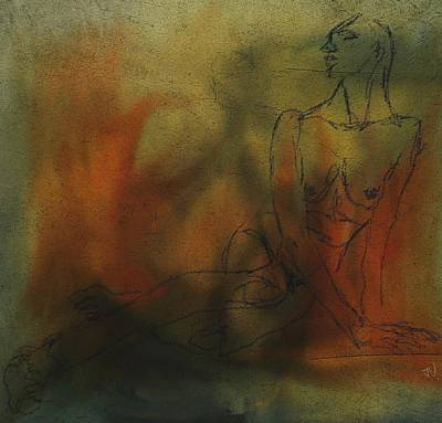 Digital Art - Nude 12jan2016 by Jim Vance