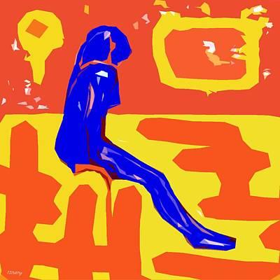 Nude 16 Art Print by Patrick J Murphy