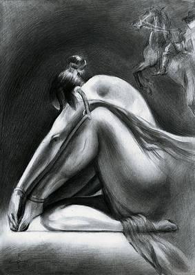 Nude - 17-06-15 Art Print by Corne Akkers