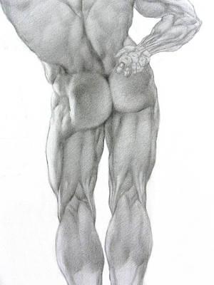 Nude 2b Art Print