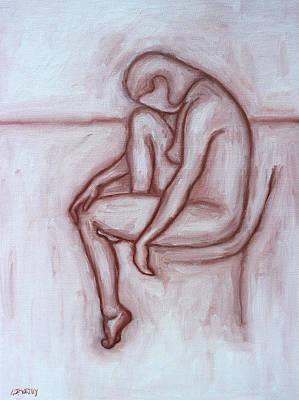 Modern Painting - Nude 41 by Patrick J Murphy