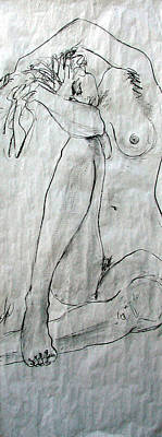Nude 4749 Art Print