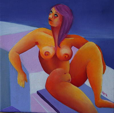 Painting - Nude 5 by Karin Eisermann