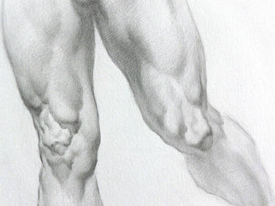 Nude 5c Art Print by Valeriy Mavlo