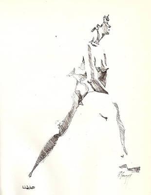 Nude 6 Art Print by R  Allen Swezey
