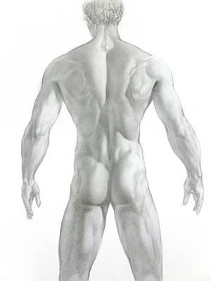 Nude 7 Art Print