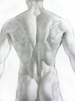 Drawing - Nude 7a by Valeriy Mavlo