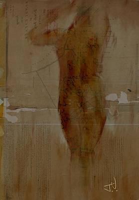 Nude Abstract 12feb2016 Art Print