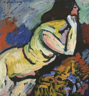 Jawlensky Painting - Nude  by Alexej von Jawlensky