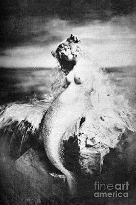 Painting - Nude As Mermaid, 1898 by Granger