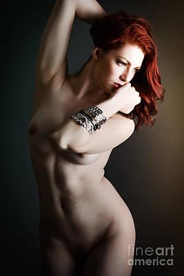 Nude Bracelets Art Print by Jt PhotoDesign