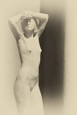 Nude Art Print by Carolyn Dalessandro