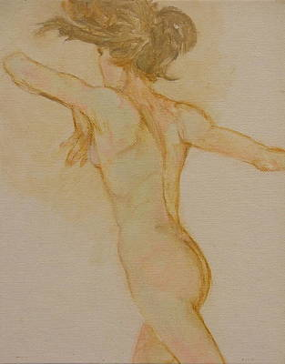 Nude Dancer Art Print by Gary Kaemmer