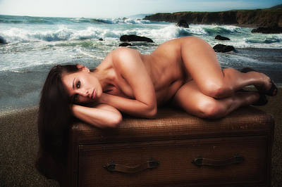 Photograph - Nude Gift by Harry Spitz