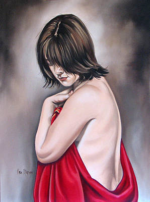Nude Hundred And Two Of Seven Art Print by Ilse Kleyn