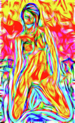 Luminous Body Painting - Nude II by Nick Arte