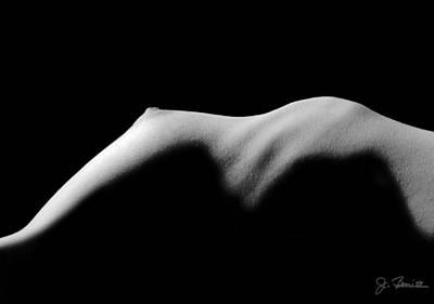 Figure Study Photograph - Nude In Contrast by Joe Bonita