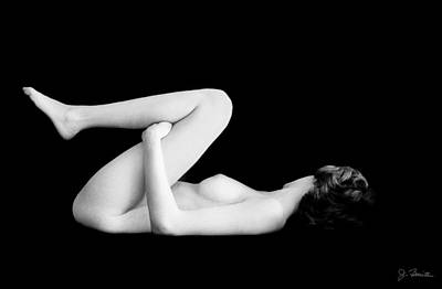 Photograph - Nude In Contrast No. 3 by Joe Bonita