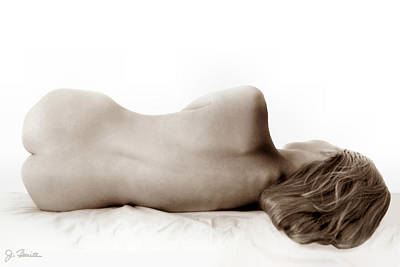 Photograph - Nude In Repose by Joe Bonita