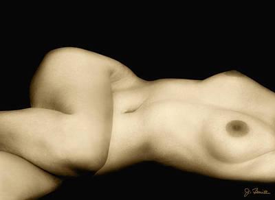Photograph - Nude In Repose No. 4 by Joe Bonita