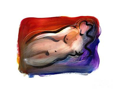 Painting - Nude by Marcella Rose