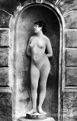 Painting - Nude Posing, C1885 by Granger