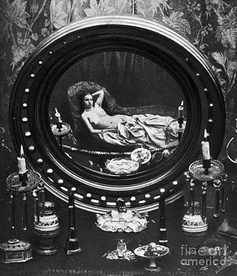 Photograph - Nude Reflected In Mirror by Granger