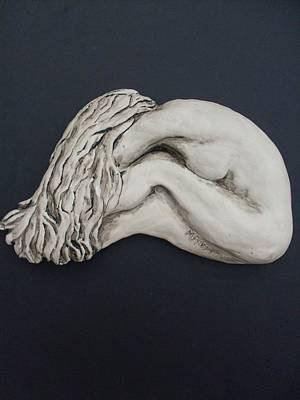 Nude Sculpture Print by Melissa Florentino
