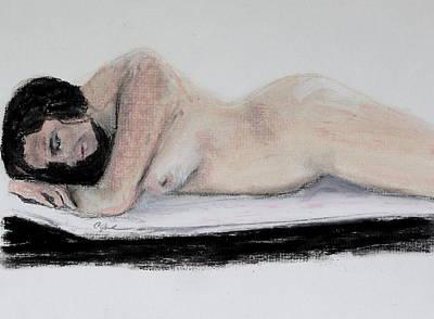 Nude Sleeper Art Print