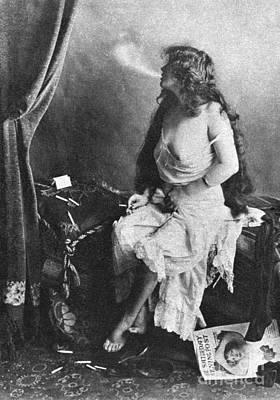 Painting - Nude Smoking, 1913 by Granger