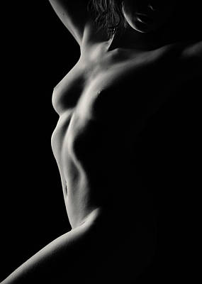 Photograph - Nude Study No13 by Dave Bowman