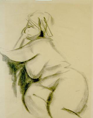 Nude Study Art Print by Howard Stroman