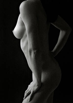 Photograph - Nude Study No8 by Dave Bowman