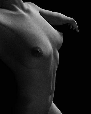 Nude Study Of Jamie Dancing Art Print
