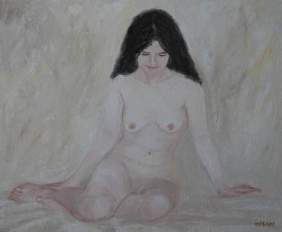 Painting - Nude Study Part 1 by Masami IIDA