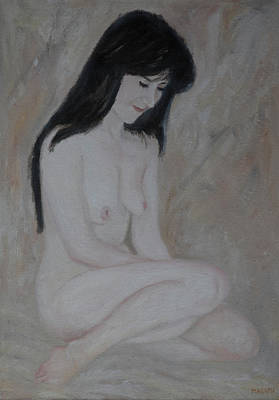 Painting - Nude Study Part 2 by Masami IIDA