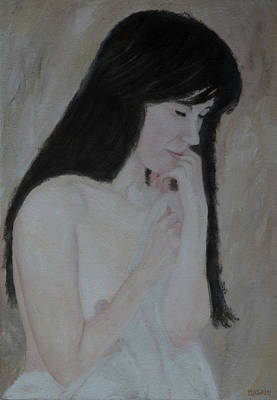 Painting - Nude Study Part 3 by Masami IIDA