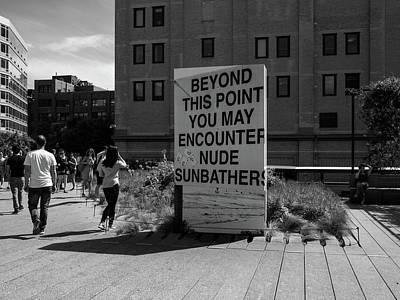 Photograph - Nude Sunbathers by Megan Crandlemire