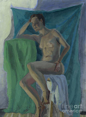 Nude  Art Print by Timothy Winiarski